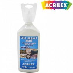 Cola Blanca Vinílica Atelie Acrilex 100 gr.